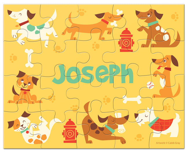 Dog Park Puzzle - frecklebox
