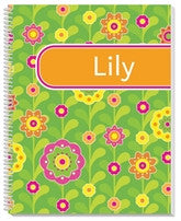 Flower Fields Notebook - frecklebox