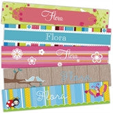 Garden Party Bookmarks - frecklebox