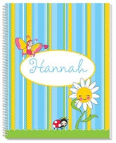 Garden Party Notebook - frecklebox