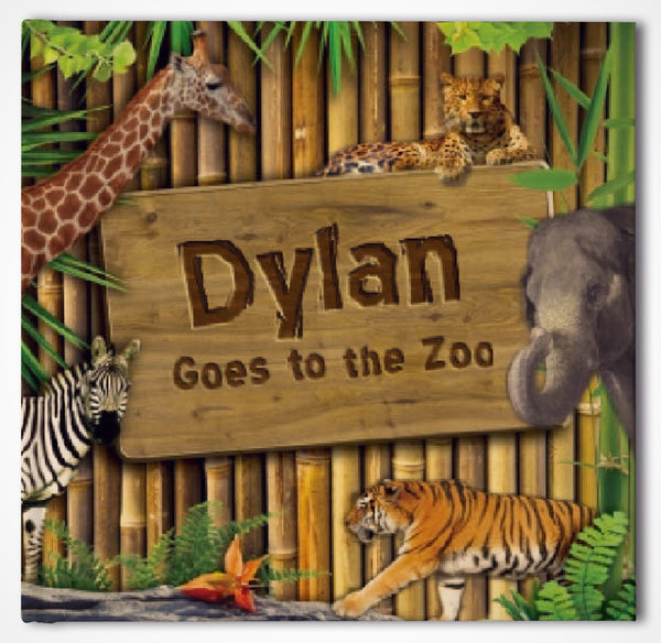 Goes To The Zoo Personalized Storybook - frecklebox