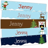 Happy Holiday Bookmarks - frecklebox