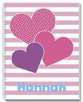 Heart Cluster Notebook - frecklebox