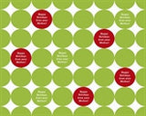 Holiday Dots Wrapping Paper 12ft - frecklebox