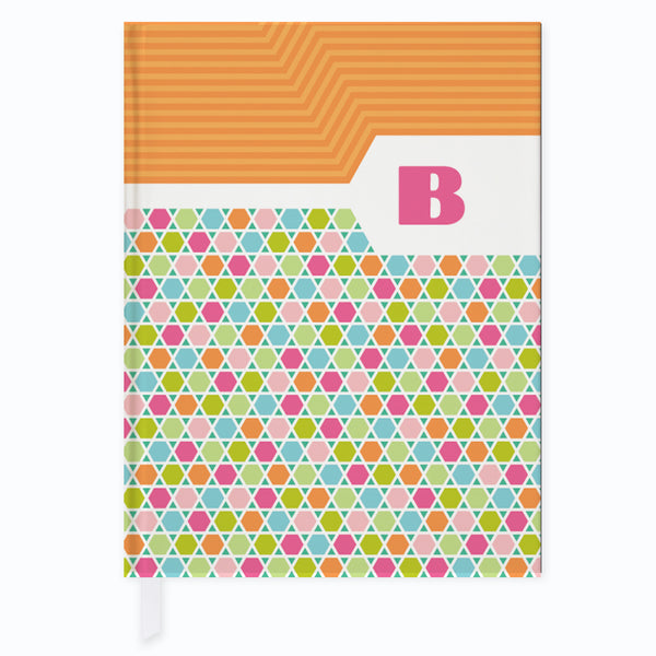 Honeycomb Rainbow Journal - frecklebox