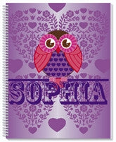 Hoot Hoot Notebook - frecklebox
