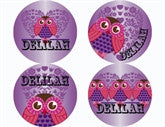 Hoot Hoot Personalized Stickers - frecklebox