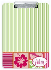 Hula Girl Clipboard - frecklebox