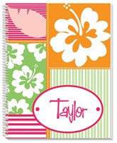 Hula Girl Notebook - frecklebox