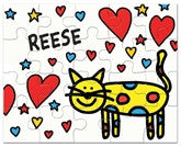 I Heart Cats Puzzle - frecklebox