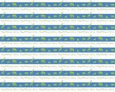 Jungle Stripes Wrapping Paper 6ft - frecklebox