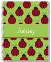 Lady Bugs Notebook - frecklebox