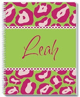 Leopard Notebook - frecklebox