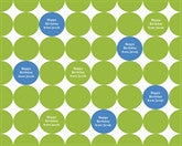 Lime Dots Wrapping Paper 12ft - frecklebox