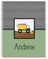 Men At Work Notebook - frecklebox