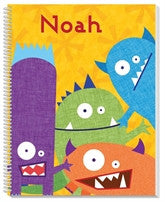 Monsters Notebook - frecklebox