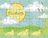 Mucky Duckies Puzzle - frecklebox