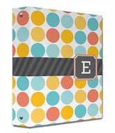 Multi Monogram Binder - frecklebox