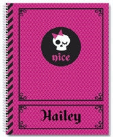 Naughty and Nice Notebook - frecklebox