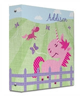 Pink Pastures Binder - frecklebox
