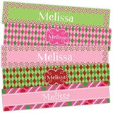 Pink Peppermint Bookmarks - frecklebox - 1