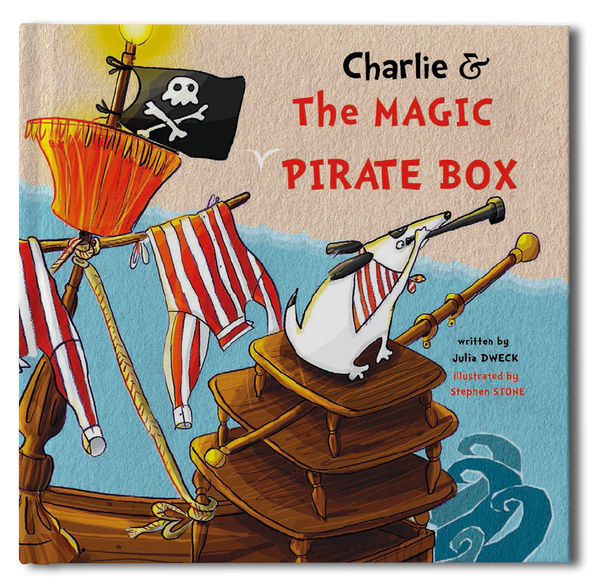 Pirate Box Personalized Storybook - frecklebox