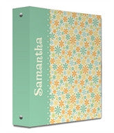Pretty Petals Binder - frecklebox