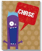 Purple People Eater Notebook - frecklebox