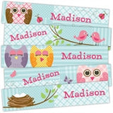 Quilted Owls Bookmarks - frecklebox - 1