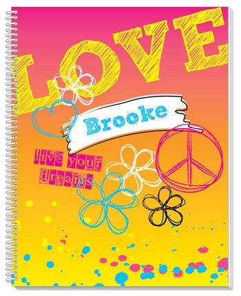 Rockin' Rainbow Sketchbook - frecklebox