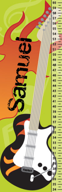 Rock Legend Growth Chart - frecklebox