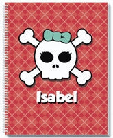 Skull-O-Kiddy Notebook - frecklebox