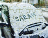 Snow Car Puzzle - frecklebox