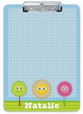 Spring Smiles Clipboard - frecklebox