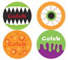 Scary Monster Personalized Stickers - frecklebox