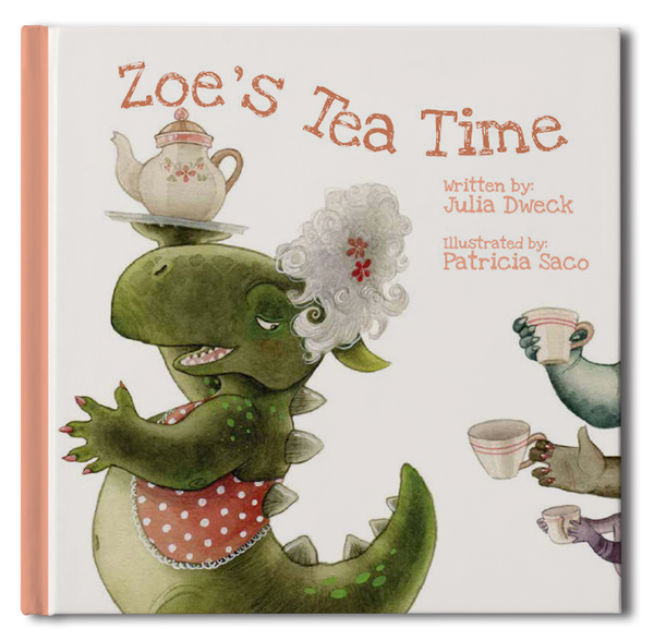 Tea Time Personalized Storybook - frecklebox