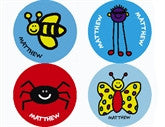 Todd Parr Insects Personalized Stickers - frecklebox