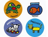 Todd Parr Pets Personalized Stickers - frecklebox