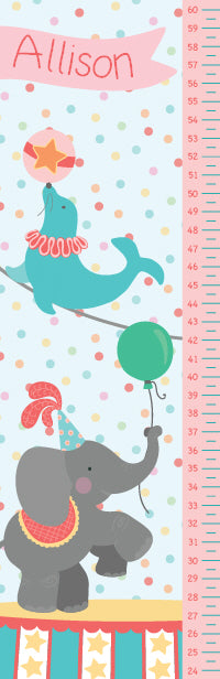 Under The Big Top Growth Chart - frecklebox
