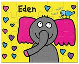 Tweet Tweet Elephant Puzzle - frecklebox
