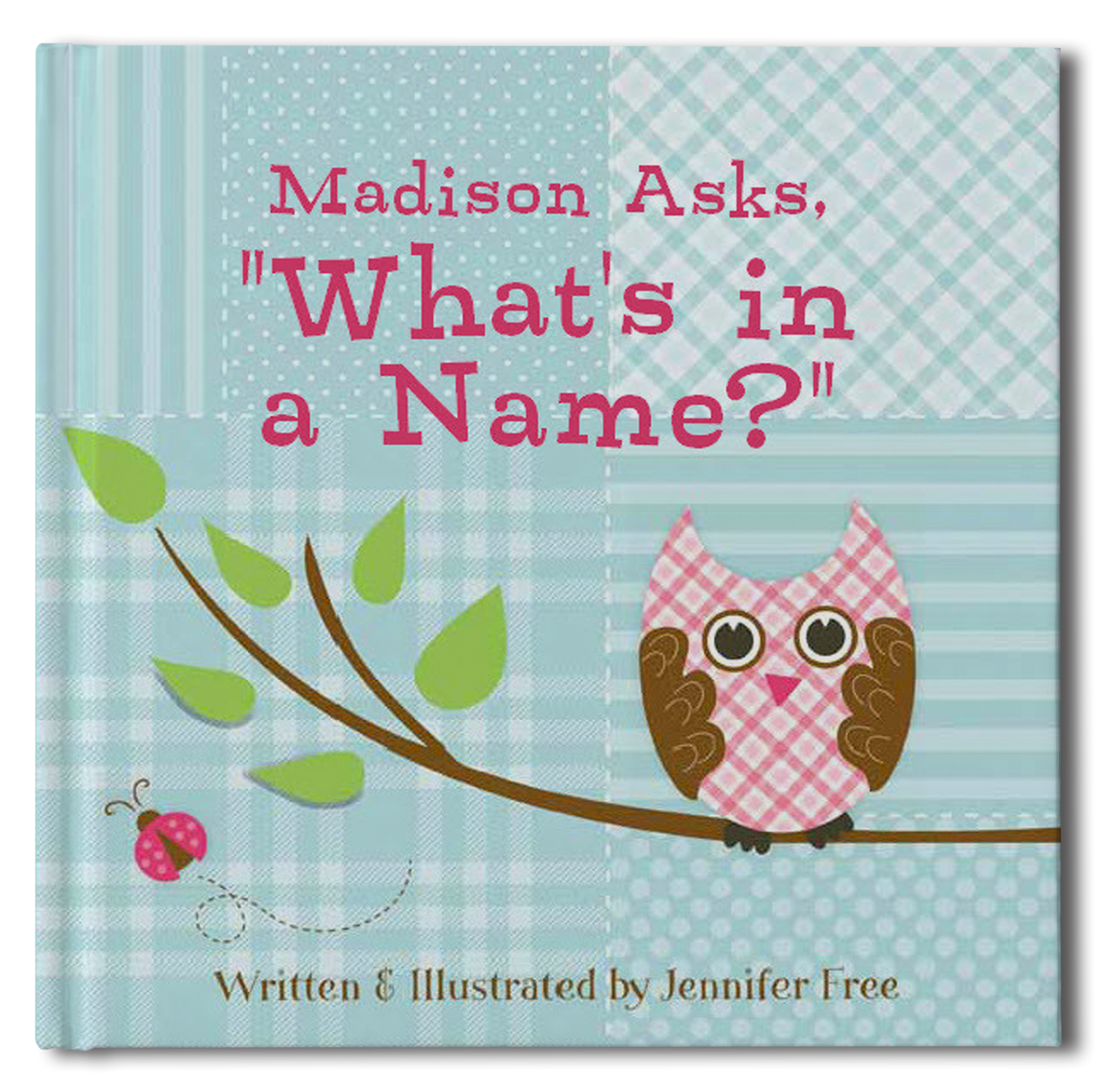 What's In A Name Personalized Storybook - frecklebox