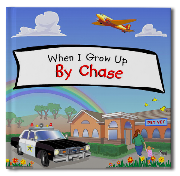 When I Grow Up Personalized Storybook - frecklebox