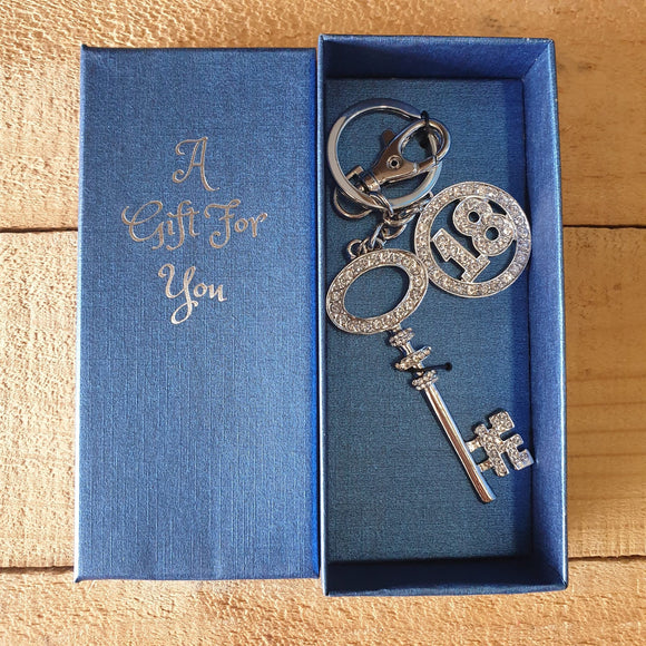 18th Key Ring / Bag Ring
