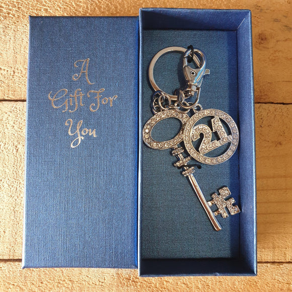 21st Key Ring / Bag Ring