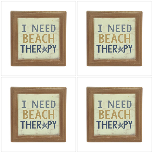 Beach Therapy Coasters