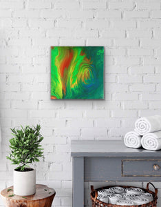 "Original Arcylic Canvas Painting ""Illuminious"""