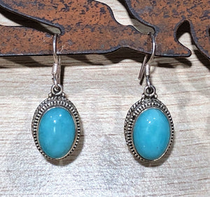 Amazonite 925 Sterling Silver Earrings