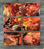 Handpainted Placemats Set of Six