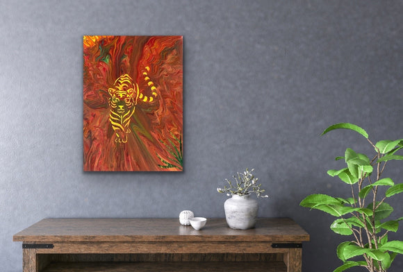 Original Arcylic Canvas Painting