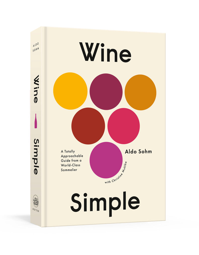Signed Copy of Wine Simple by Aldo Sohm (Hardcover)